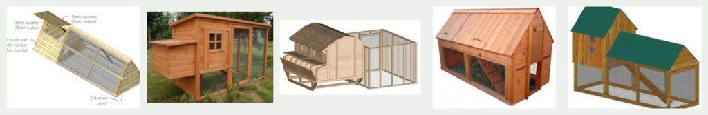 5 of the top designs for Bill's Coops