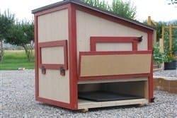 4x4 Super 8 Chicken Coop