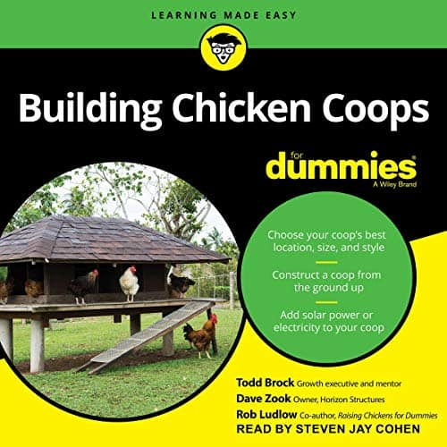 Building a Chicken Coop for Dummies Book